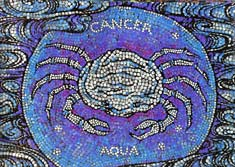 Cancer, the Crab, from mural by George Di Carlo