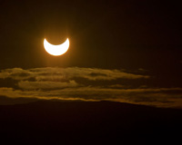 Partial Solar Eclipse, June 1, 2011