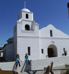 Sabian Symbol for Aquarius 1: An old adobe mission.