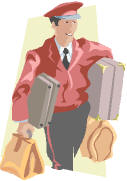 12 Taurus: A porter carrying heavy baggage.