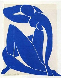 Blue Nude, by Henri Matisse