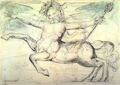 Centaur by William Blake, from The Divine Comedy