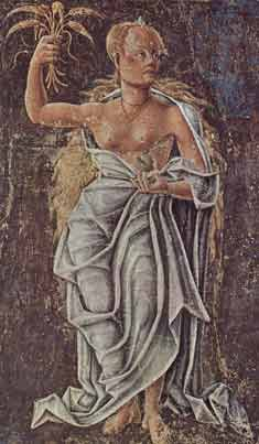 Demeter, goddess of agriculture, for the New Moon in Virgo