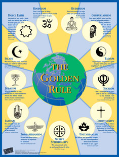 Golden Rule Poster from Scarboro Missions