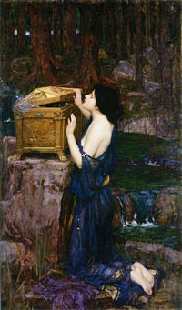 Pandora, by John William Waterhouse