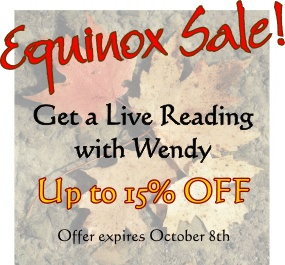 Equinox Sale on Readings with Wendy