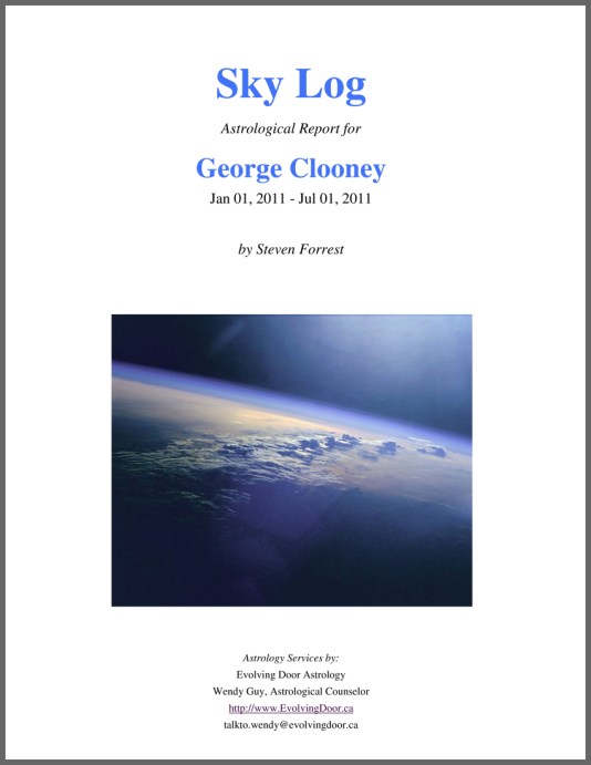 Order Astrology Reports ☆ Evolving Door Astrology